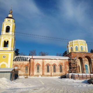 Покровский храм д. Пашнево