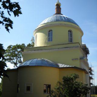 Никольский храм д. Большая Дубна